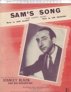 Sam's song - Old Sheet Music by Sterling