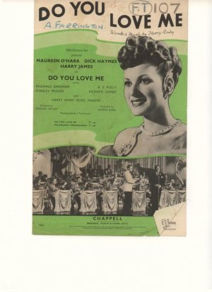 Do you love me - Old Sheet Music by Chappell