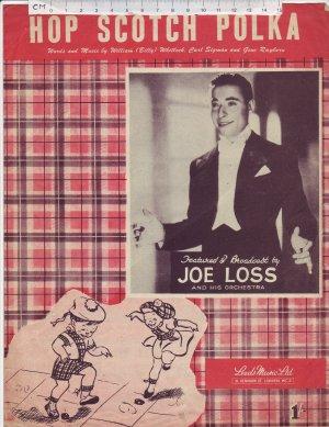 Hop scotch polka - Old Sheet Music by Leeds