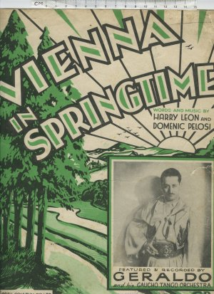 Vienna in Springtime - Old Sheet Music by Campbell Connelly