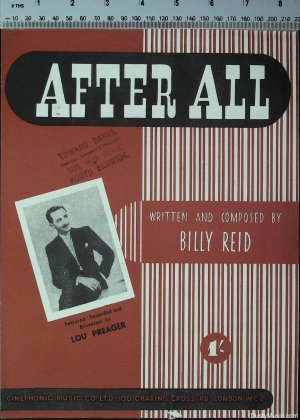 After all - Old Sheet Music by Cinephonic