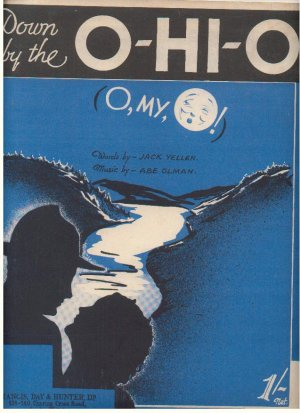 Down by the O-hi-o - Old Sheet Music by Francis Day & Hunter