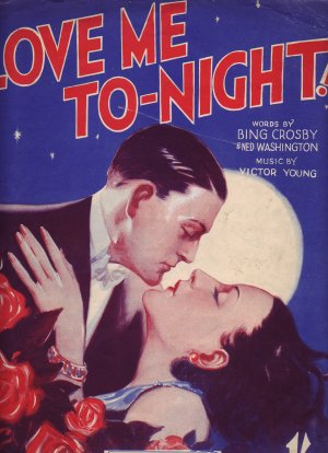 Love me tonight - Old Sheet Music by Campbell Connelly
