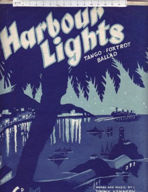 Harbour Lights - Old Sheet Music by Peter Maurice