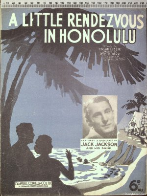 A little rendezvous in Honolulu - Old Sheet Music by Campbell Connelly