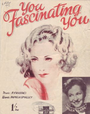 You fascinating you - Old Sheet Music by Peter Maurice