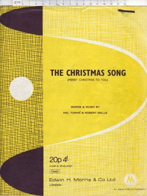 The Christmas song - Old Sheet Music by Morris