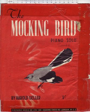 The mocking bird - Old Sheet Music by Cinephonic