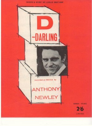 D - Darling - Old Sheet Music by Essex