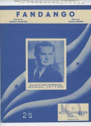 Fandango - Old Sheet Music by MIlls
