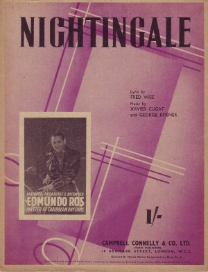Nightingale - Old Sheet Music by Campbell Connelly