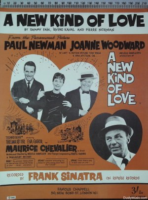A new kind of love - Old Sheet Music by Chappell