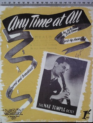 Any time at all - Old Sheet Music by Macmelodies