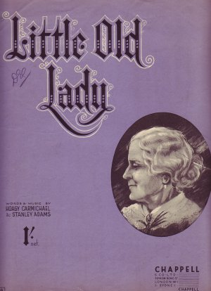 Little old lady - Old Sheet Music by Chappell