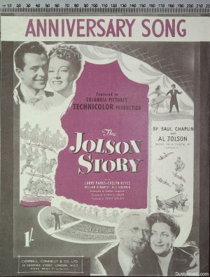 Anniversary song - Old Sheet Music by Campbell Connelly