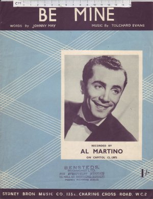 Be mine - Old Sheet Music by Sydney Bron