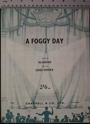 A foggy day - Old Sheet Music by Chappell
