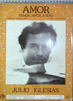 Amor - Old Sheet Music by Latin-American