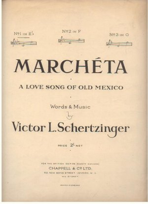 Marcheta - Old Sheet Music by Chappell