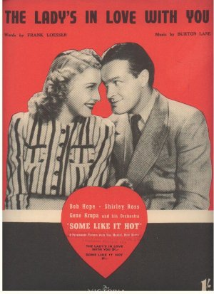 The lady's in love with you - Old Sheet Music by Victoria