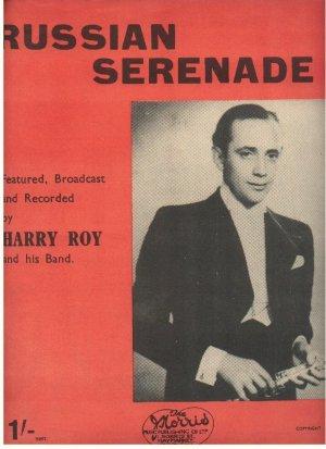 Russian serenade - Old Sheet Music by Norris