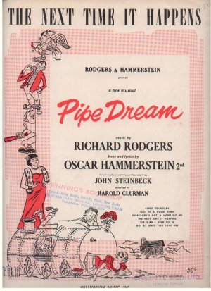 The next time it happens - Old Sheet Music by Williamson