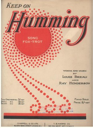 Keep on humming - Old Sheet Music by Chappell