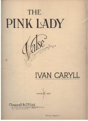 The pink lady - Old Sheet Music by Chappell