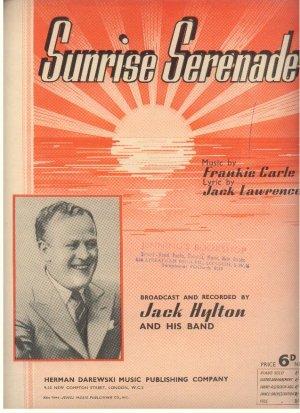 Sunrise serenade - Old Sheet Music by Darewski