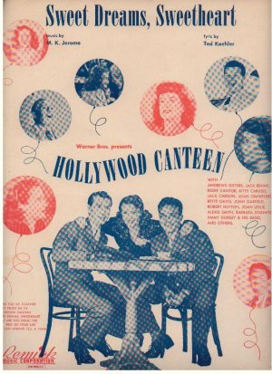 Sweet dreams sweetheart - Old Sheet Music by Remick