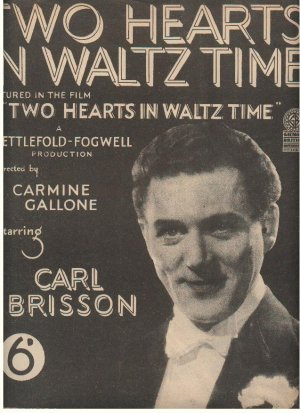 Two hearts in waltz time - Old Sheet Music by Campbell Connelly