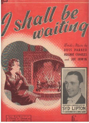 I shall be waiting - Old Sheet Music by Dash