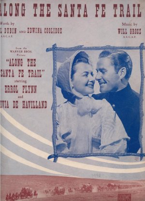 Along the Santa Fe trail - Old Sheet Music by Harms