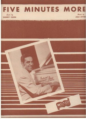 Five minutes more - Old Sheet Music by Melrose