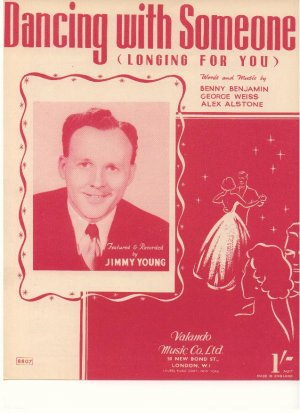 Dancing with someone - Old Sheet Music by Volando Music Co Ltd