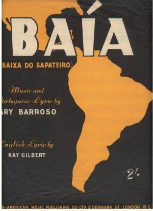 Baia - Old Sheet Music by Latin-American