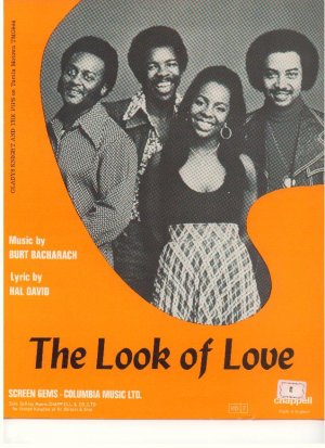 The look of love - Old Sheet Music by Chappell