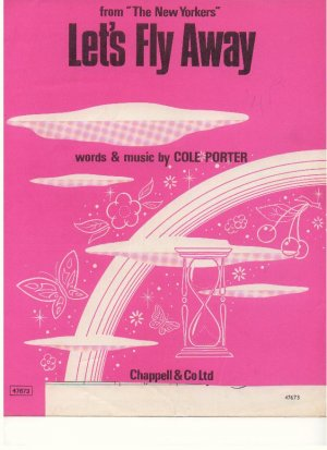 Let's fly away - Old Sheet Music by Chappell