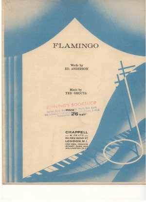 Flamingo - Old Sheet Music by Chappell