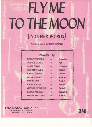 Fly me to the moon - Old Sheet Music by Kensington