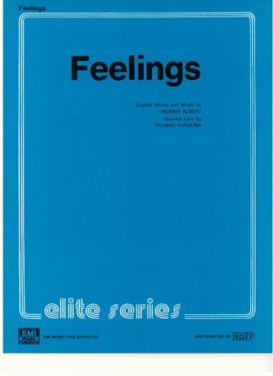 Feelings - Old Sheet Music by Elite