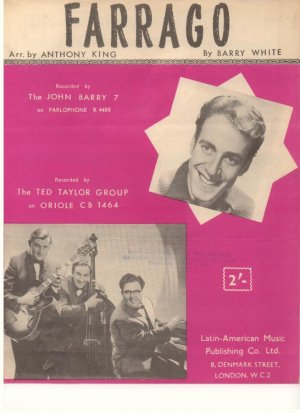 Farrago - Old Sheet Music by Latin-American