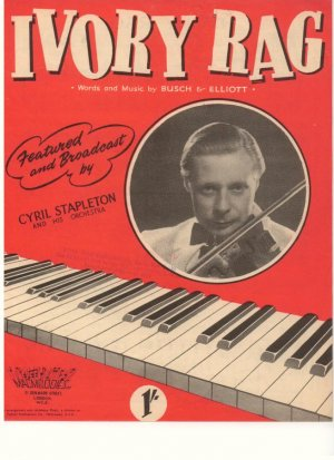 Ivory rag - Old Sheet Music by Macmelodies