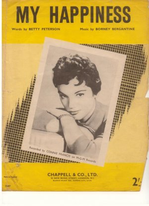 My happiness - Old Sheet Music by Chappell
