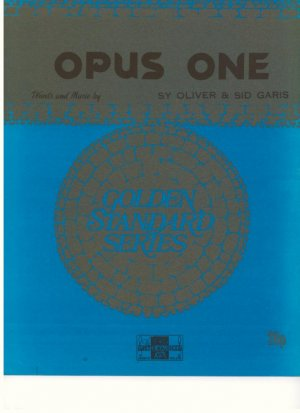 Opus one - Old Sheet Music by Peter Maurice
