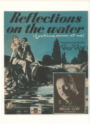Reflections on the water - Old Sheet Music by Peter Maurice
