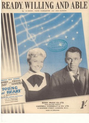 Ready willing and able - Old Sheet Music by Campbell Connelly