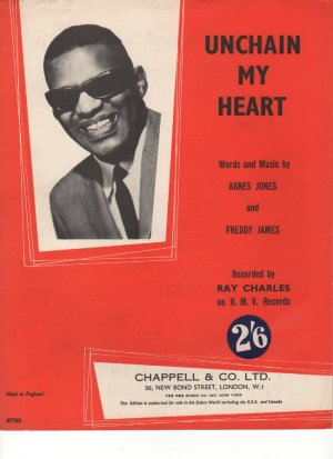 Unchain my heart - Old Sheet Music by Chappell