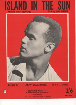 Island in the sun - Old Sheet Music by Belafonte