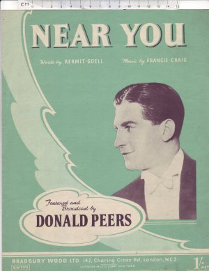 Near you - Old Sheet Music by Bradbury Wood Ltd